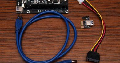 Шпаргалка по райзерам PCI-E USB 3.0