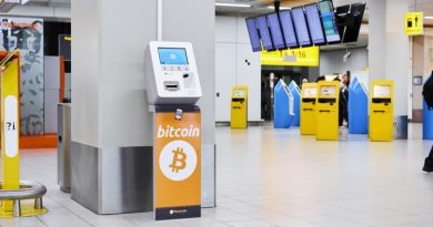В аэропорту Амстердама теперь есть биткоин-банкомат