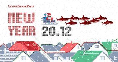 В Москве основатели CryptoSharkClub проведут новогоднюю коктейльную вечеринку