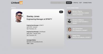 Блокчейн-стартап Dfinity показал открытую децентрализованную версию социальной сети для поиска и установления деловых контактов LinkedIn под названием LinkedUp.