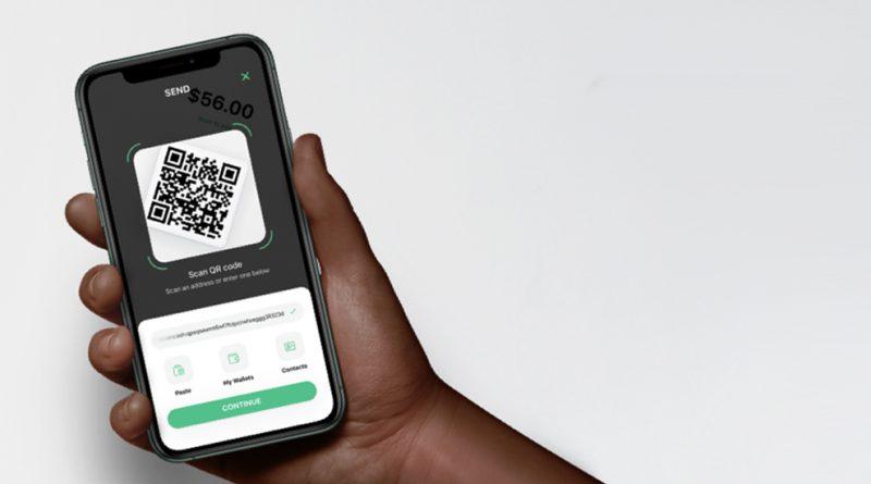 отправка криптовалюты сканированием QR кода