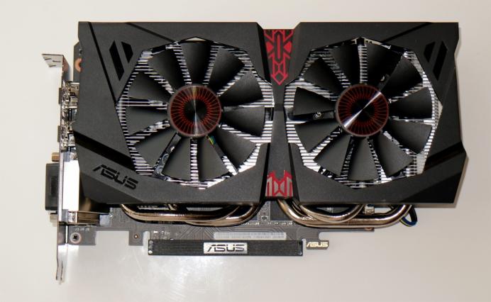 Краткий обзор ASUS GeForce GTX 1060 OC 6GB 9Gbps